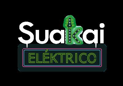 Suakai Eléktrico logo BLANCO