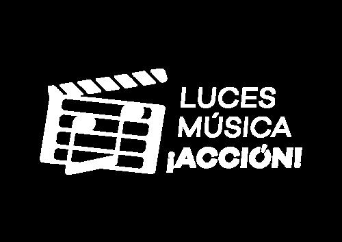 Luces música ¡acción logo bl