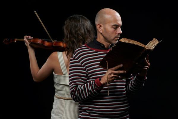 Suakai-RAICES-Libro y violin